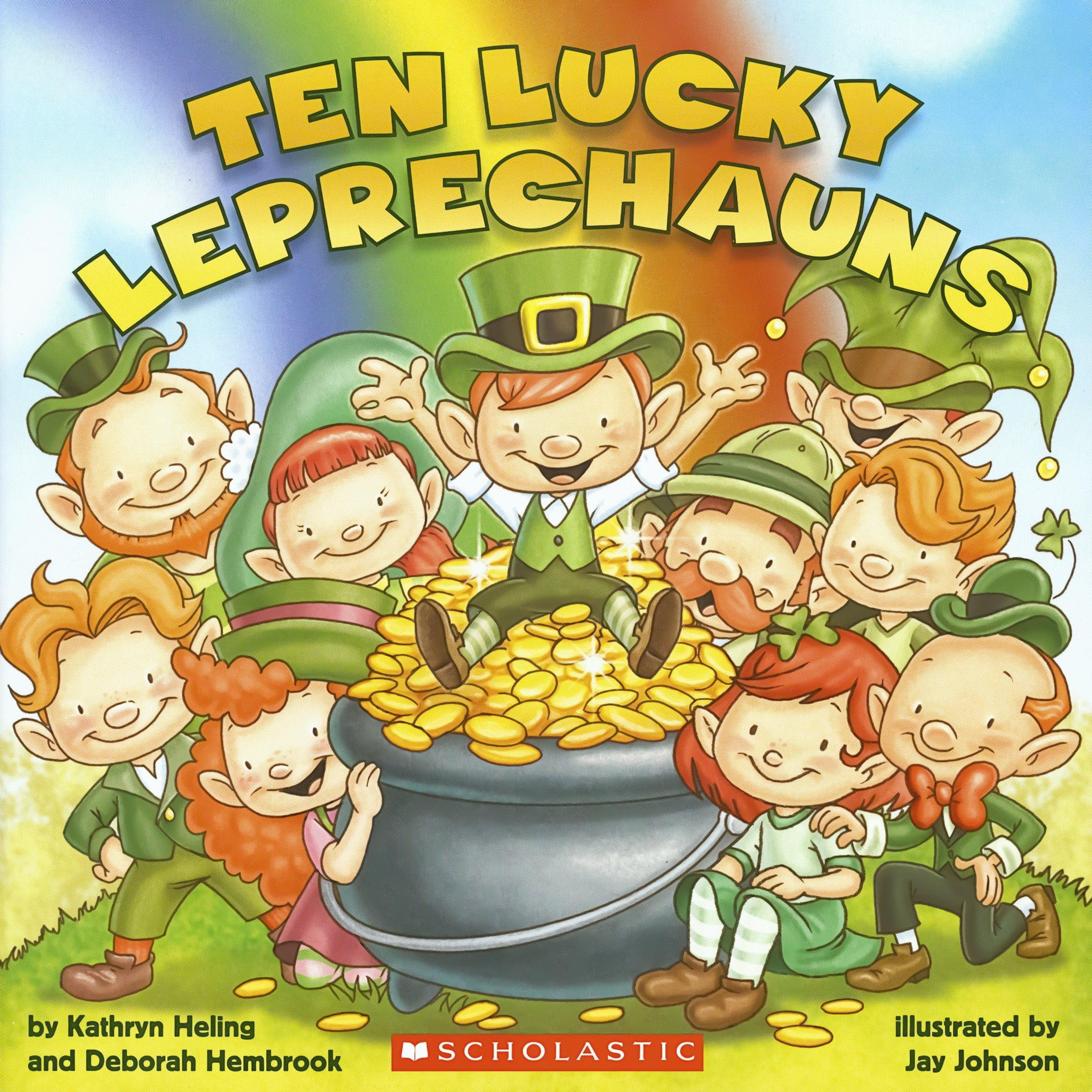 Uncategorized St Patrick Day Leprechaun Story amazon com ten lucky leprechauns 9780545436489 kathryn heling deborah hembrook jay johnson books