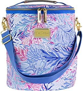 c06bfb2818045d Lilly Pulitzer Insulated Beach Cooler with Adjustable Strap, Kaleidoscope  Coral