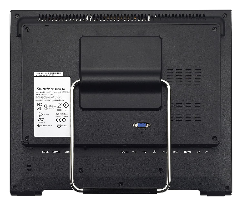 Shuttle XPС Slim X50V6 (Black) Intel SoC BGA 1356 1,8 GHz 3865U Todo-en-Uno Negro - Barebón (Intel SoC, BGA 1356, Intel® Celeron®, Intel® Pentium®, ...