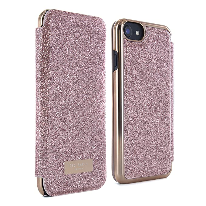 fb4472aeb Ted Baker SS17 Folio Style Case for Apple iPhone 8 7 - Fashion Mirror Case