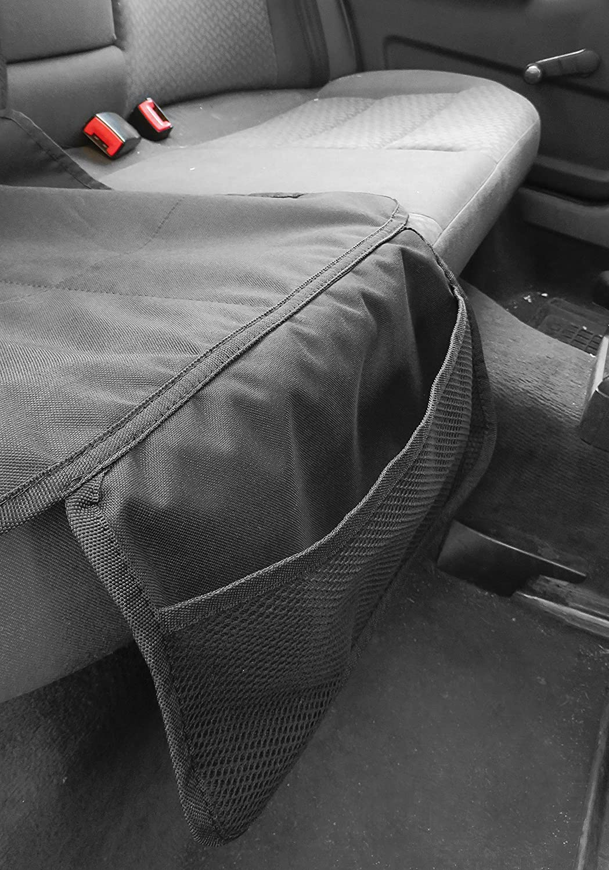 Globtex Kindersitzunterlage Schutzh/ülle f/ür Ihren Autositz Passend f/ür Range Rover EVOQUE Schonauflage f/ür die Autositze