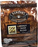 Baronet Coffee Donut Shop Blend Coffee Pods Bag, 18 Count (Pack of 3)