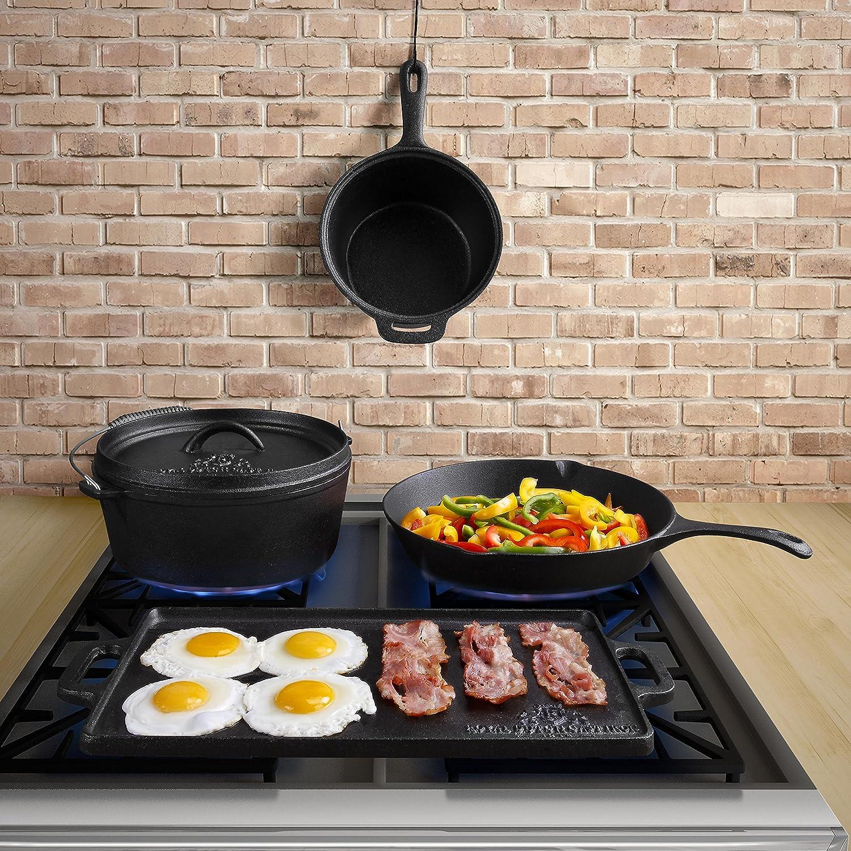 amazon com royal dutch cast iron 1815 11 piece cook box set