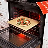 Honey-Can-Do Old Stone Oven Rectangular Pizza Stone