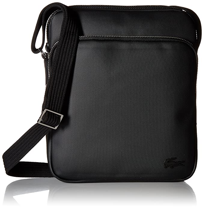 555003ee4 Lacoste Men S Classic Crossover Bag, black One Size: Amazon.ca ...