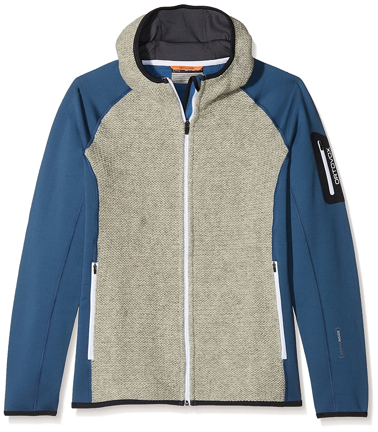 Ortovox Herren Fleece Plus Classic Knit Hoody
