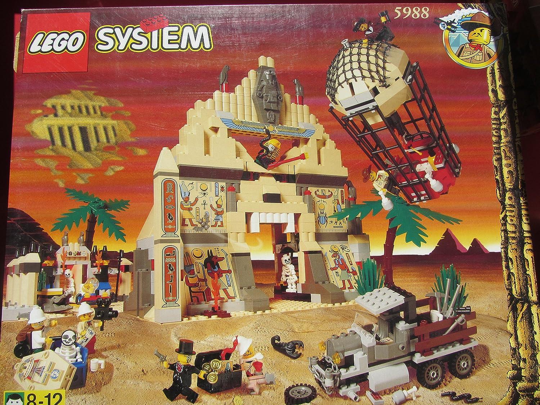 LEGO System Adventurers 5988 Der Schatz des Pharaonentempels
