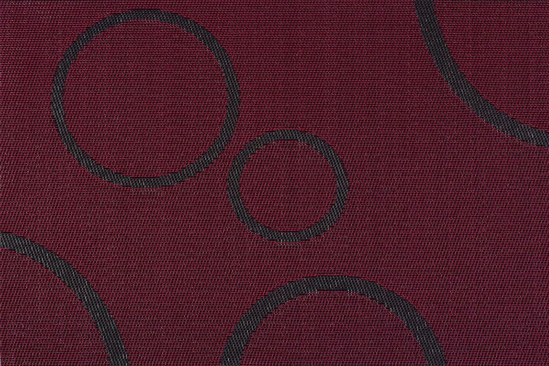 d-c-fix /® Lot de 6/sets de table CERCLES Rouge