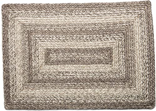 Ashwood Jute BraIHF Home Decor Ashwood Braided Rug 8'x10' Rectangle Accent Floor Carpet Natural Jute Material Doormat