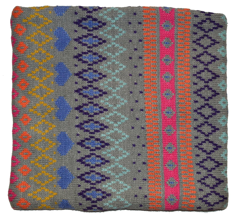 Gap Kids Girls Fair Isle Reversible Knit Fleece Neck Warmer