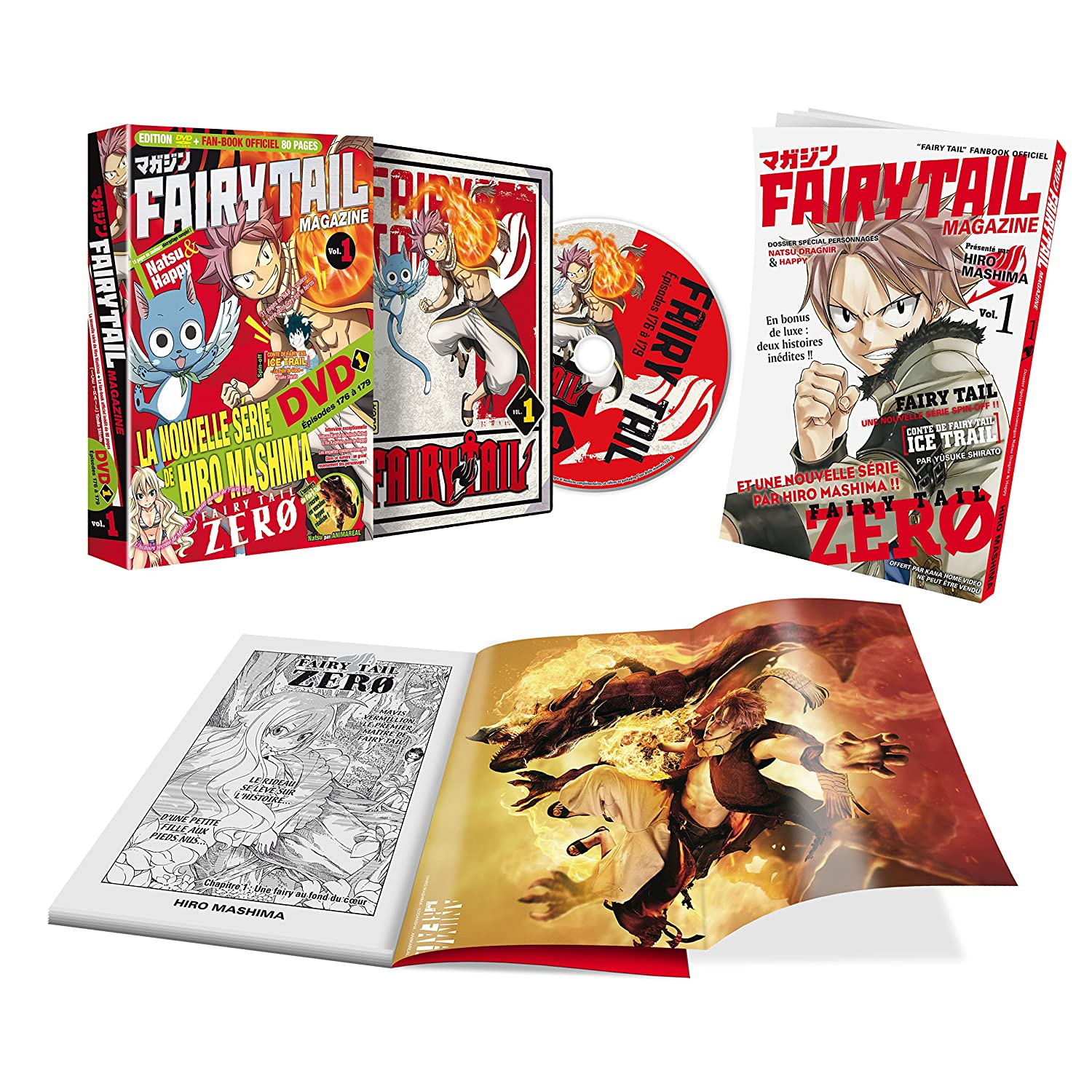 Fairy Tail Magazine - Vol. 1 [DVD]: Amazon.es: Shinji Ishihira: Cine y Series TV