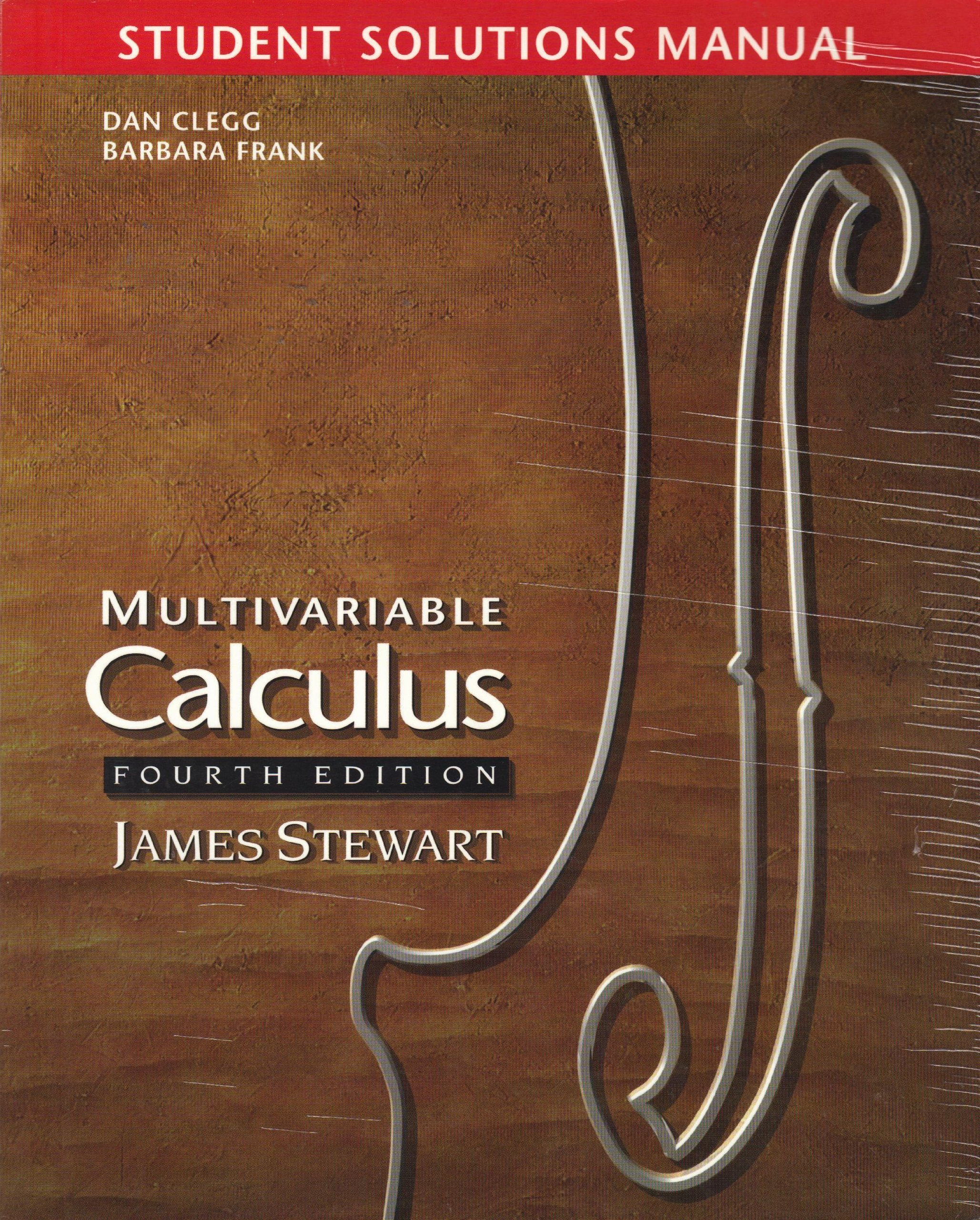 Ebook 4838 James Stewart Calculus Solutions Manual 4th Edition