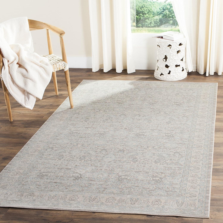 Safavieh Marigot gewebter Teppich, ARC673C, Grau   Hellgrau, 154 X 228  cm