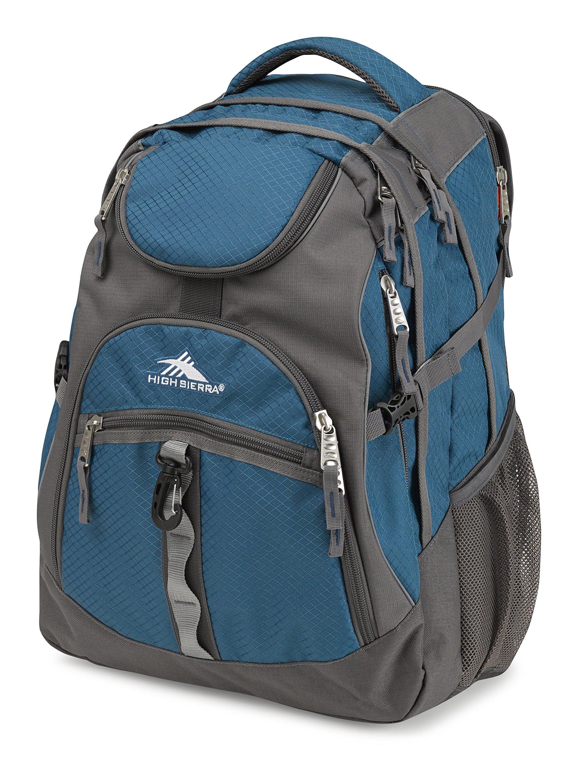 26a9cb822 Galleon - High Sierra Access Laptop Backpack, Lagoon/Slate