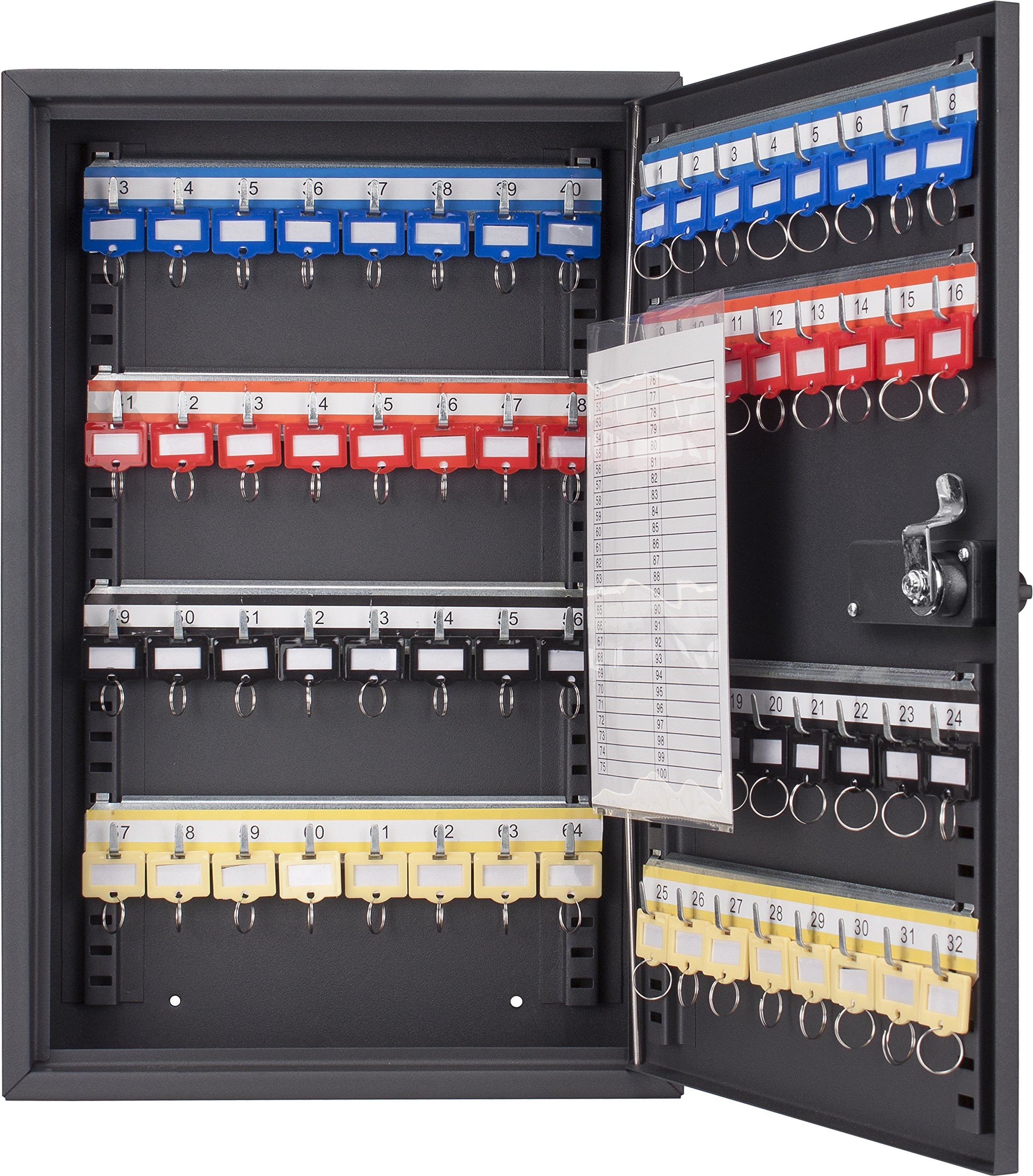 BARSKA CB13264 64 Position Key Cabinet with Combo Lock by BARSKA (Image #2)