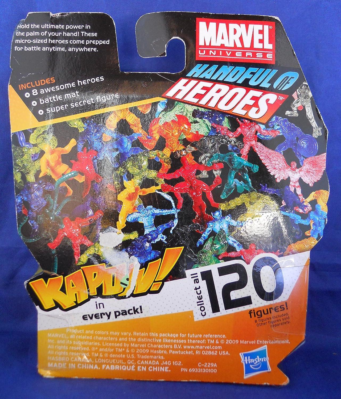 Wolverine A Translucent Orange Hasbro Marvel Handful of Heroes Wave 1 2