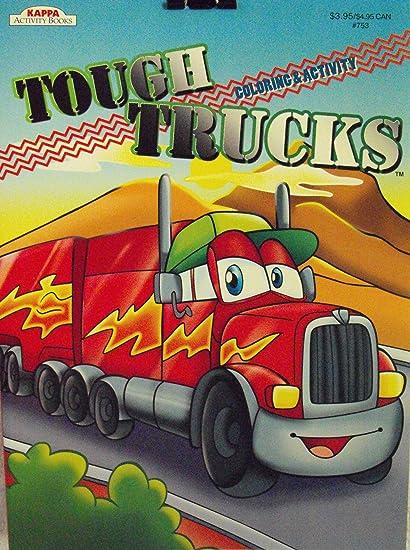 - Amazon.com: Kappa Tough Trucks Coloring And Activity Book ~96 Pg: Toys &  Games