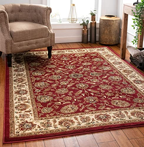 Well Woven Persian Oriental Area Rug Red 8×10 8×11 7 10 x 9 10