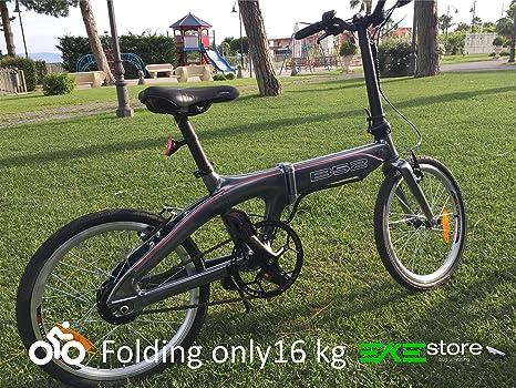 Bicicletta Elettrica Pieghevole B 52 16kg Super Leggera In