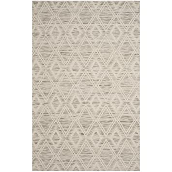 Safavieh Marbella Collection Mrb312 C Light Brown And Ivory Area Rug, 4' X 6' by Safavieh