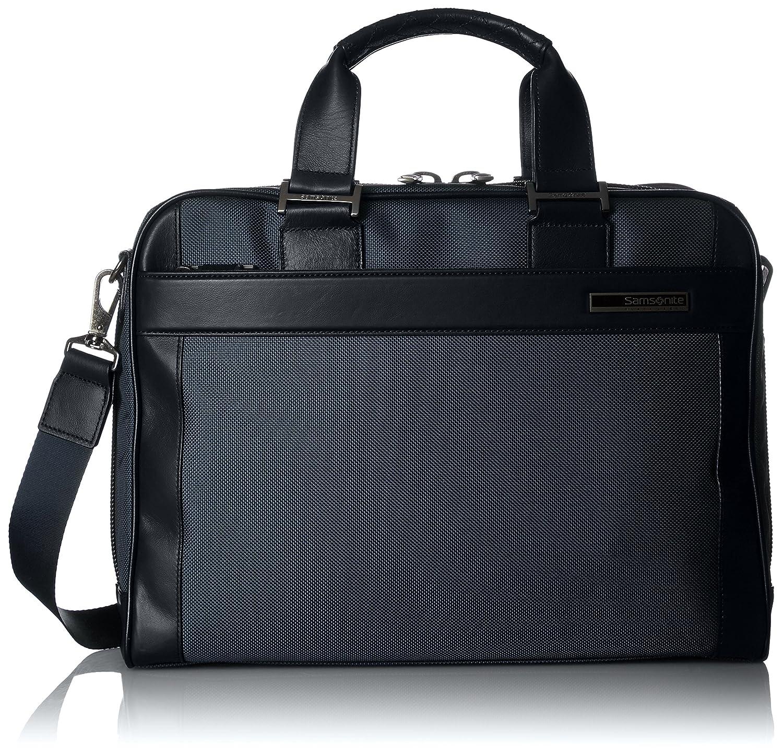 [サムソナイトブラックレーベル] ビジネスバッグ 公式 デュラールブリーフケース(S) S36*09001 B06WWQZD9Zネイビー