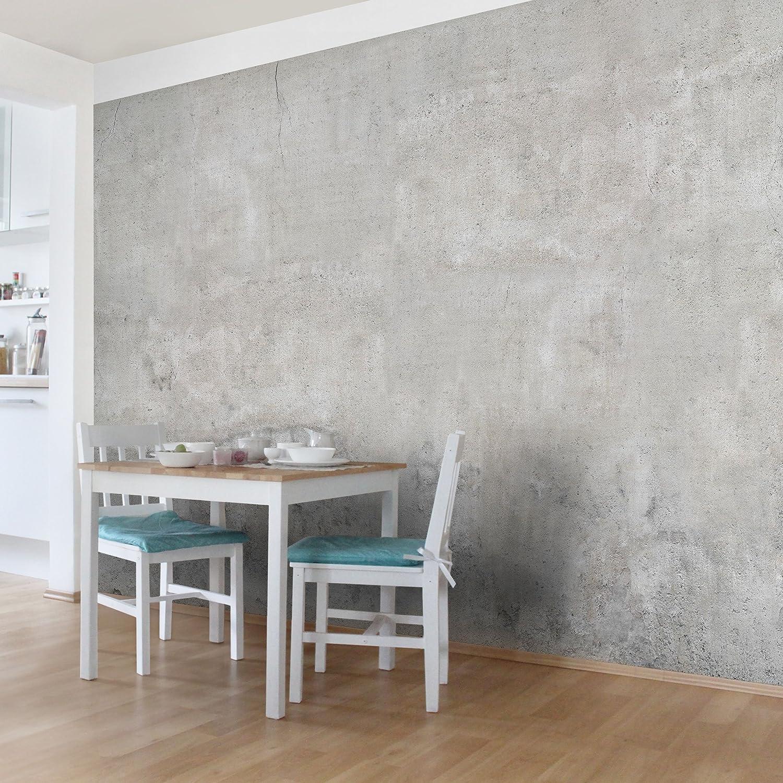 Vliestapete steinoptik küche  Bilderwelten Fototapete | Betontapete Shabby Betonoptik Tapete ...