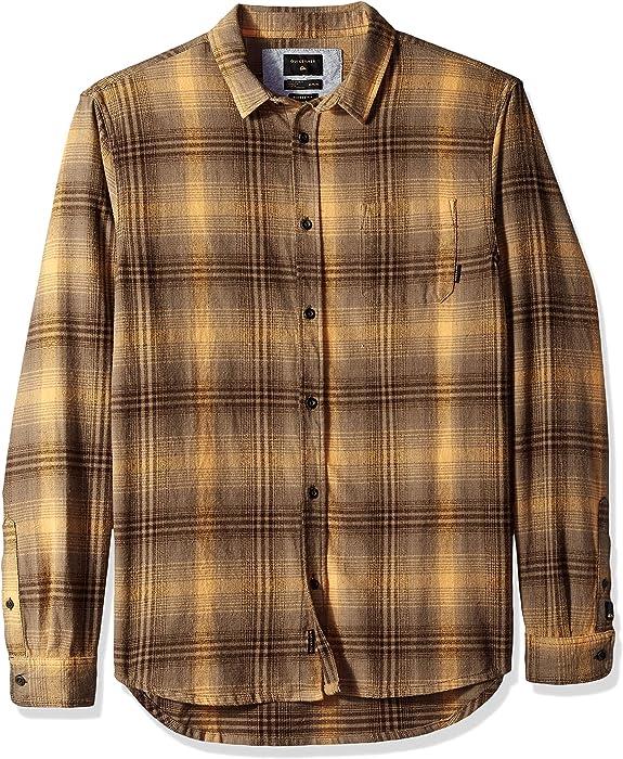 2d1babe7d45c Amazon.com  Quiksilver Men s Flannel Shirt