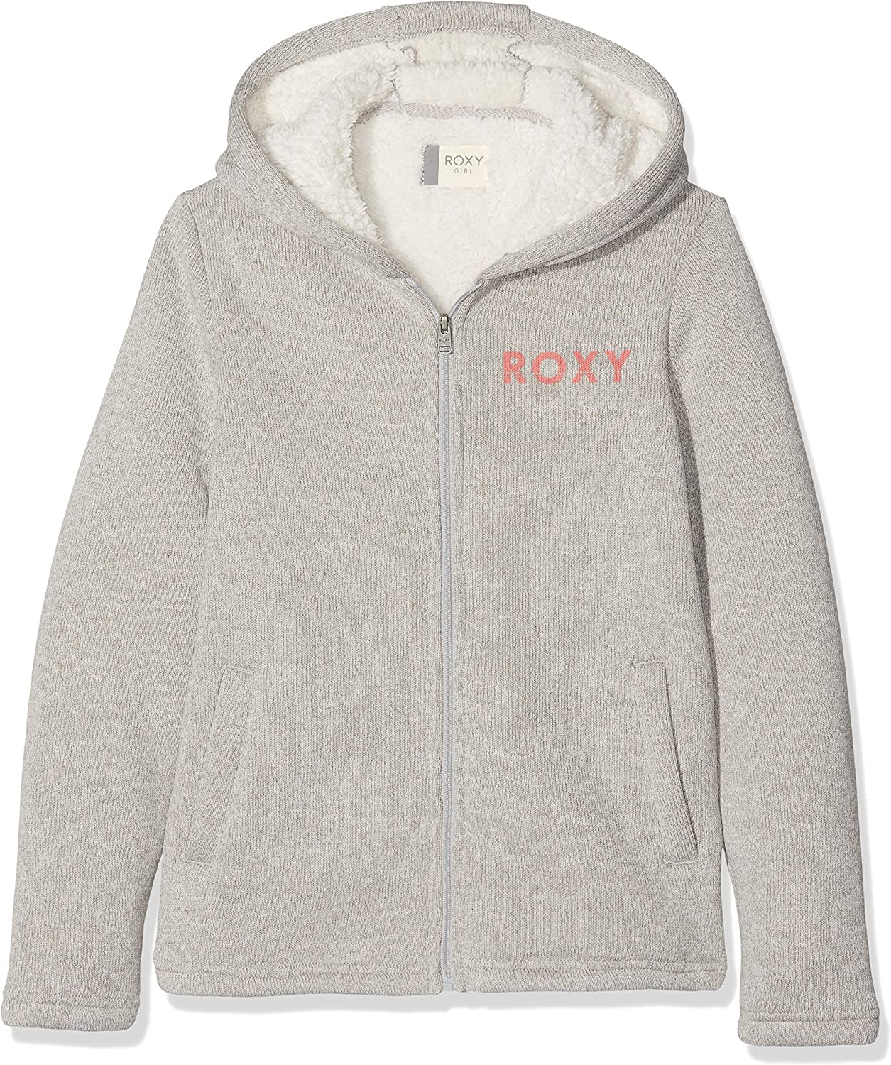 Roxy Super Cosy Sweat À Capuche Zippé Doublé en Matière