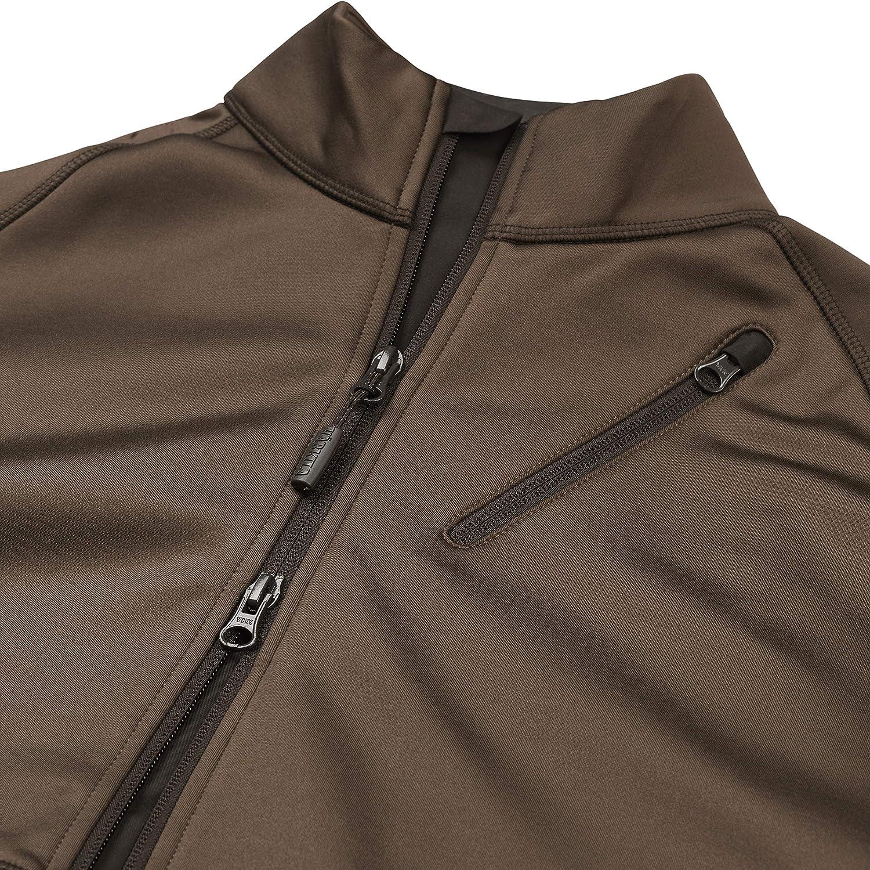 chaqueta de caza el/ástico de secado r/ápido TM H/ärkila Chaqueta de forro polar Njord para hombre de material ArcStretch chaqueta de entretiempo para exteriores