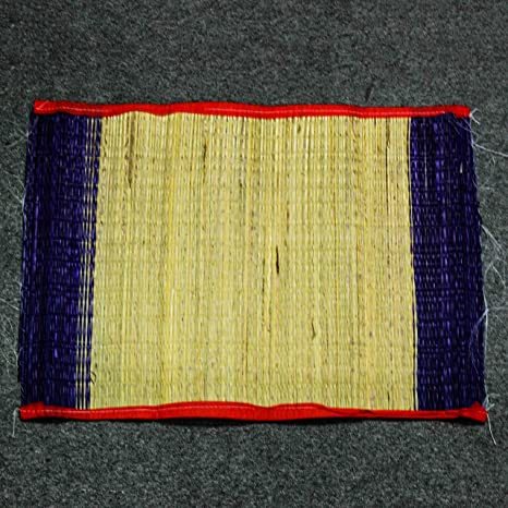 The Holy Mart Kusha Mats Aasan Used for Rituals or Meditation, Handmade and Sacred Puja Articles at amazon
