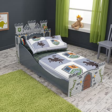 KidKraft Knights & Shields Toddler Bedding.