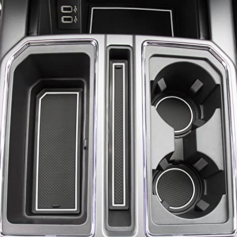 F 150 Custom >> Amazon Com 2017 2018 2019 For Ford F 150 Custom Fit Cup Holder And