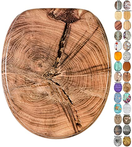 Natur Casual Line Bamboo Bambus Wirquin 20719732 WC Deckel
