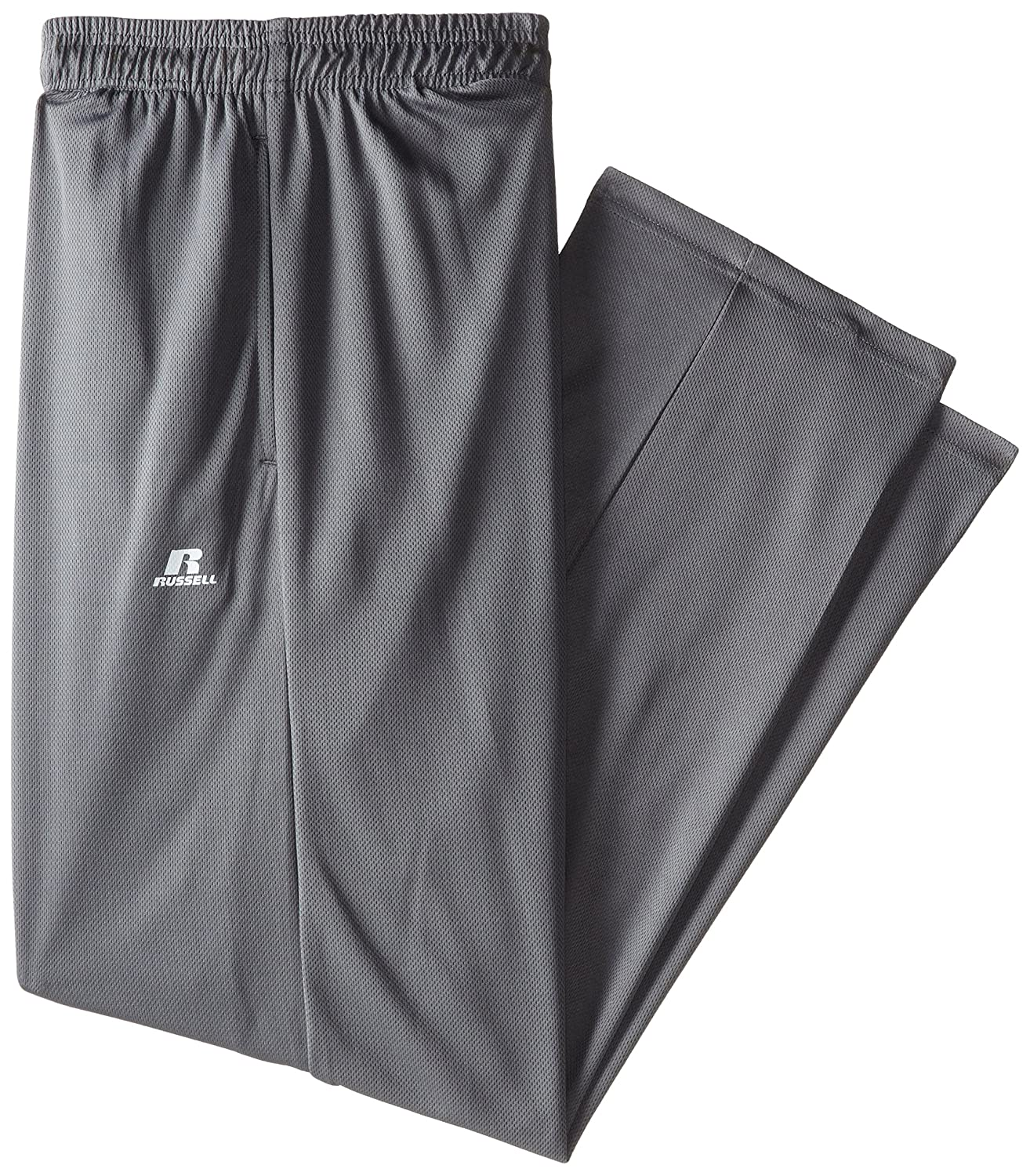 Russell Athletic Men's Big-Tall Solid Dri-Power Pant Dark Grey Large Tall RDPP195