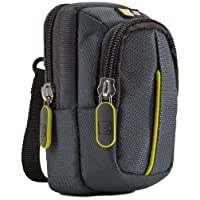 Case Logic DCB302GY Etui avec Stockage en nylon pour Appareil photo compact Argent