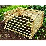 Contenitore in legno per compost – Ciccio 'o comandante: Large