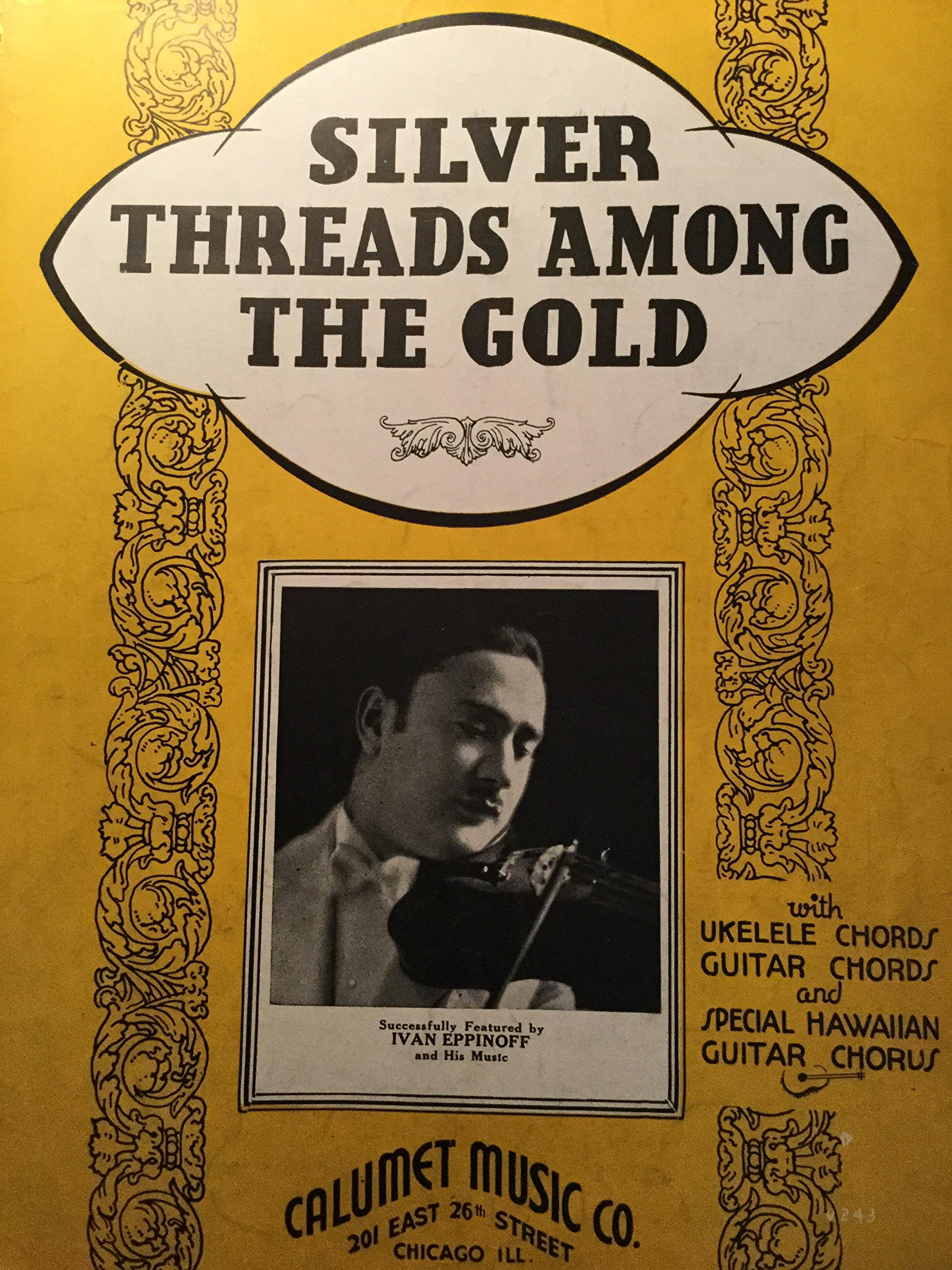 Amazon Silver Threads Among The Gold With Ukelele Chords Guitar