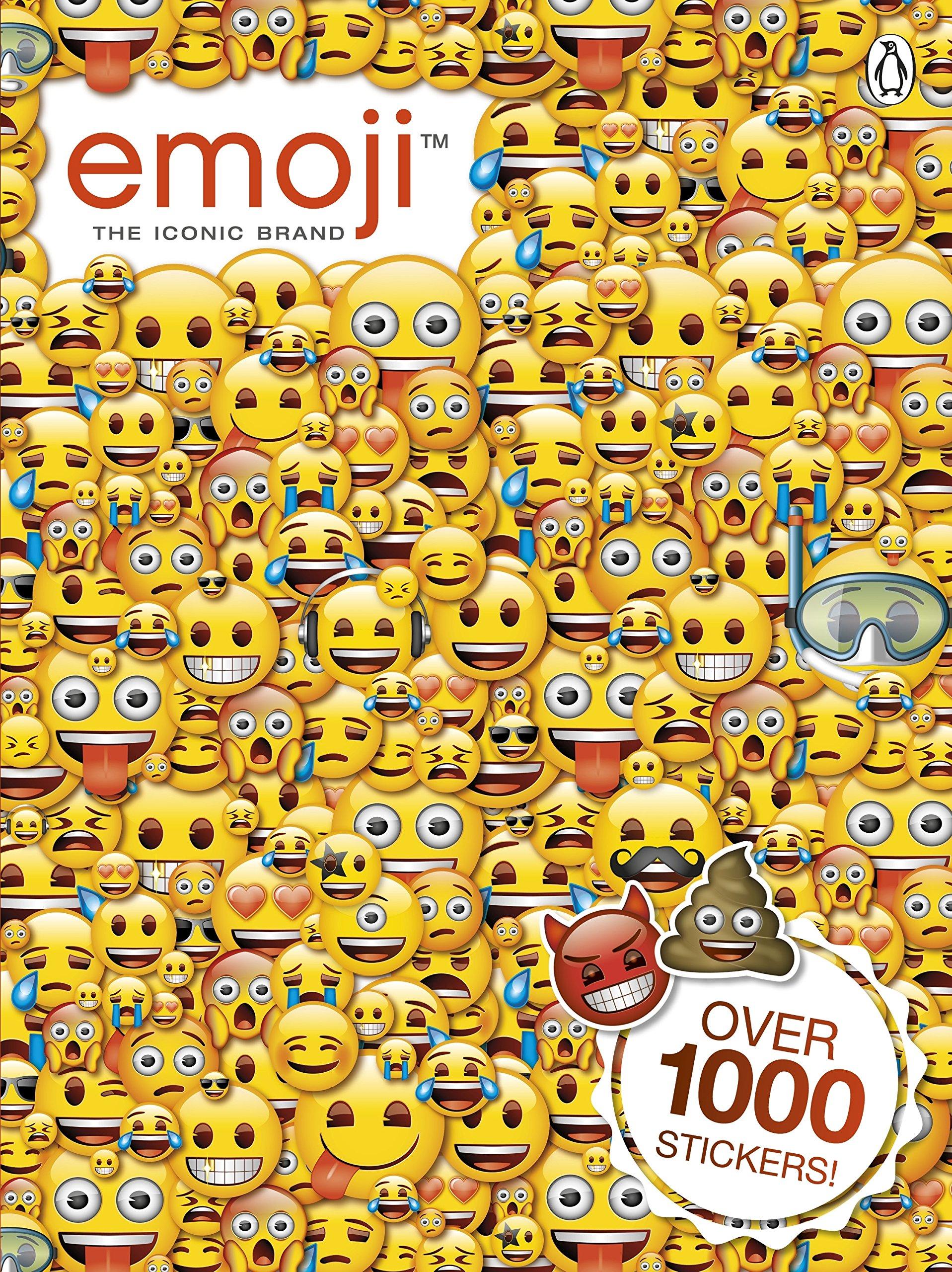 Emoji: Official Sticker Book