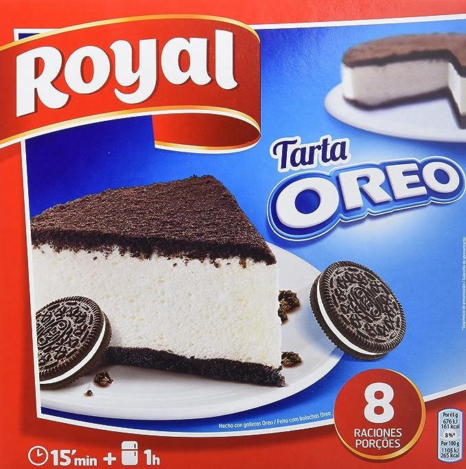 Royal - Tarta Oreo - No Horno, 215 g - [Pack de 7]: Amazon.es ...