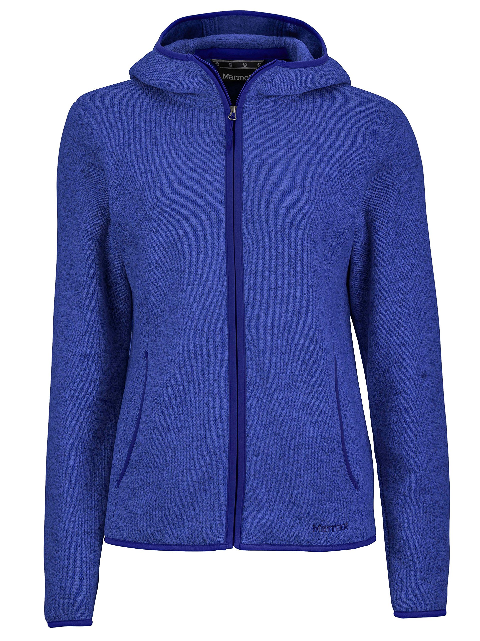 Marmot Norhiem Women's Sweater Knit Fleece Jacket, Gemstone, Small by Marmot