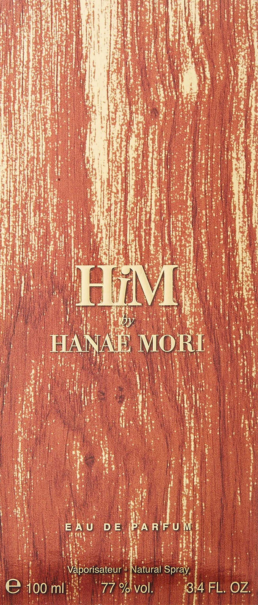 Hanae Mori Him EDP Spray for Men, 3.4 Ounce