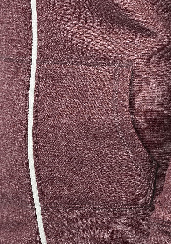 Desires DerbyZip Veste en Sweat Zipp/é Sweat-Shirt /À Capuche pour Femme /À Capuche Doublure Polaire