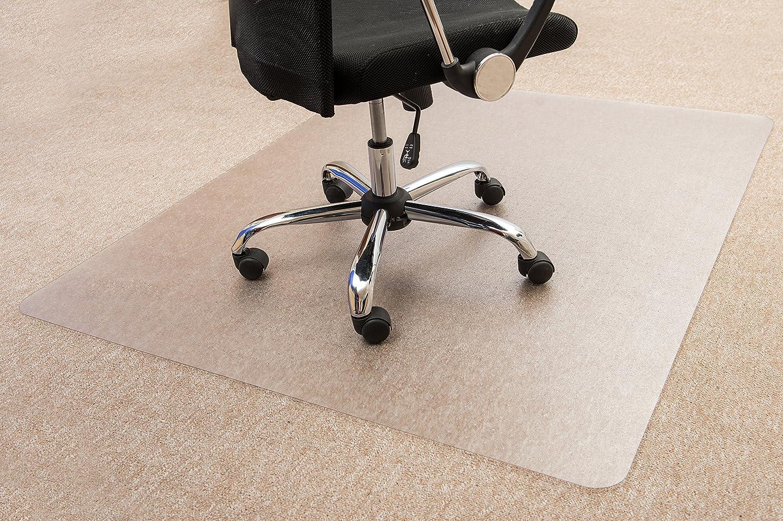 Floortex Bodenschutzmatte   Bürostuhlunterlage ultimat ultimat ultimat   119 x 75 cm   aus Original Polycarbonat   transparent   rechteckig   TÜV zertifiziert   für nieder- & mittelflorige Teppichböden 78db28