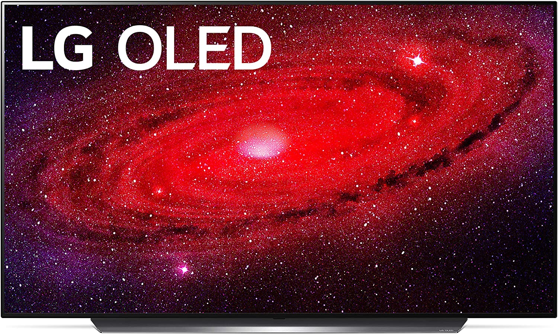 "LG OLED55CXPUA Alexa Built-In CX 55"" 4K Smart OLED TV (2020)"