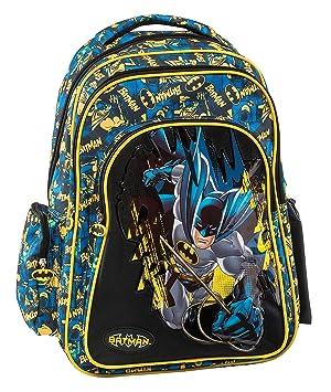 Graffiti Batman Mochila Escolar, 44 cm, Negro (Black): Amazon.es: Equipaje