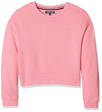 Tommy Hilfiger Girls AME Stripe Bn HWK L//S Sweatshirt