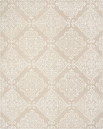 Safavieh Glamour Collection GLM568E Handmade Wool Area Rug
