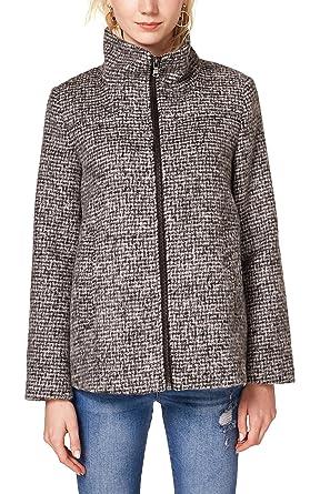 Manteau col roule femme