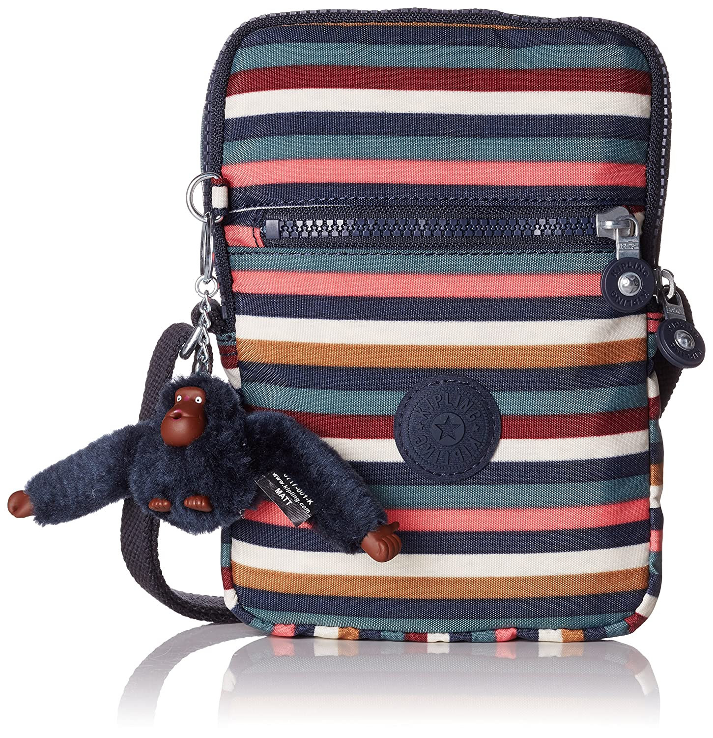 3483b43f9a6 Amazon.com | Kipling ESSYLA Messenger Bag, 21 cm, 0.5 liters, Multicolour  (Multi Stripes) | Messenger Bags