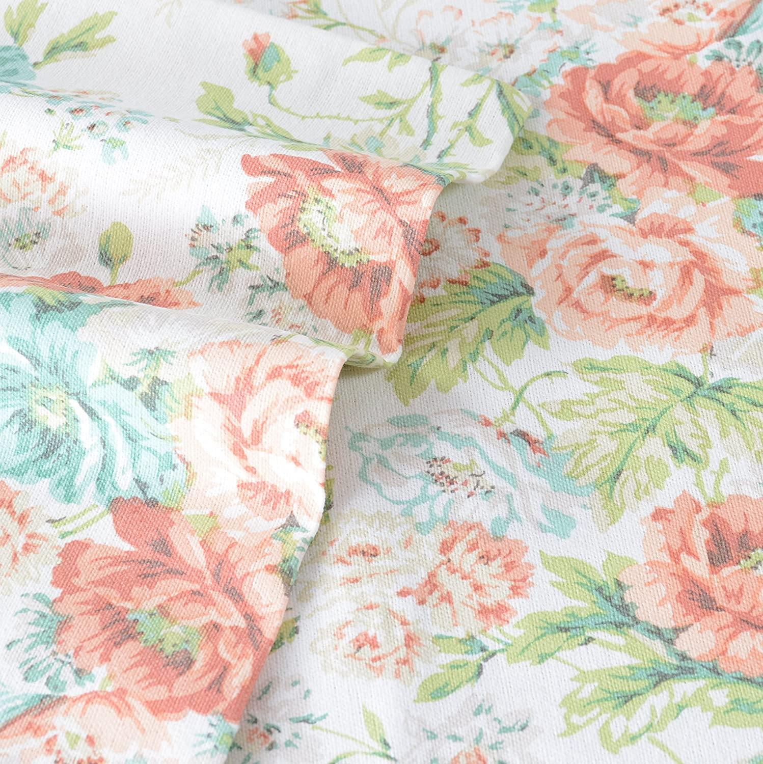 Laura Ashley Arundel Apricot Flannel Sheet Set, King